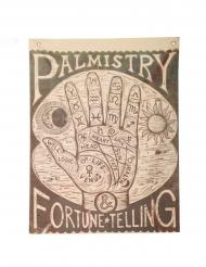 Cartello lettura della mano 100 x 75 cm