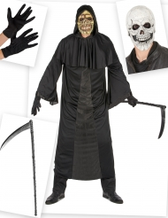 Set costume e accessori da morte per uomo