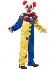 Costume clown da brividi per bambino