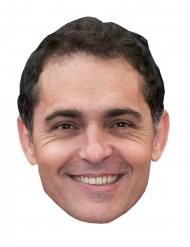 Maschera in cartone Pedro Alonso