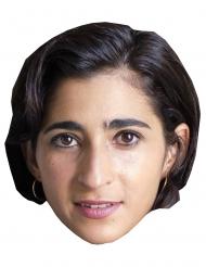 Maschera in cartone Alba Flores