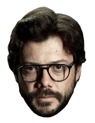 Maschera in cartone Alvaro Morte