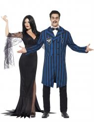 Costume di coppia famiglia gotica halloween