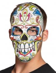 Maschera Dia de los Muertos bianca