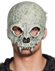 Mezza maschera cranio mostro