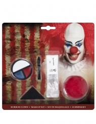 Kit trucco clown spaventoso