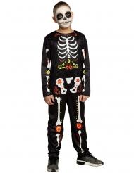 Costume Dia de los Muertos bambino