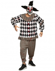 Costume clown sadico adulto