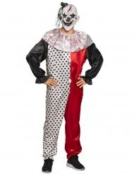 Costume clown psicopatico adulto