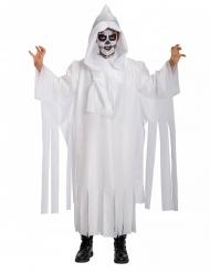 Costume scheletro fantasma bambino