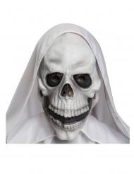 Maschera cranio in lattice adulto