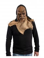 Maschera da mostro in lattice con cappuccio adulto