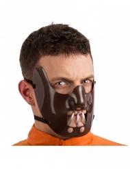 Mezza maschera da cannibale adulto
