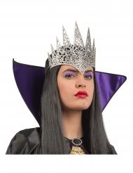 Mezza corona argentata per adulto