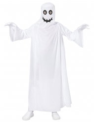 Costume da fantasma bianco bambino