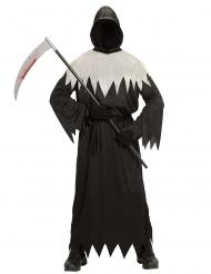Costume da morte nero e bianco adulto
