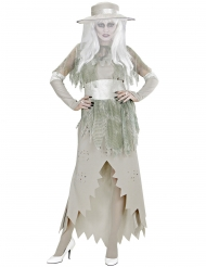 Costume fantasma bianco per donna