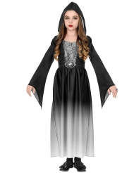 Costume guru vampiro bianco bambina