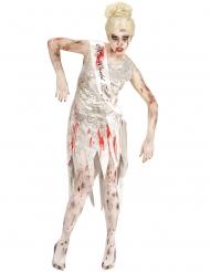 Costume Miss Mondo zombie donna