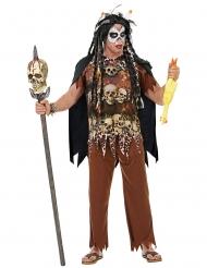 Costume da prete vudu per uomo