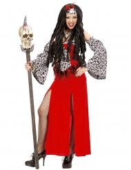 Costume da sacerdotessa vudu per donna