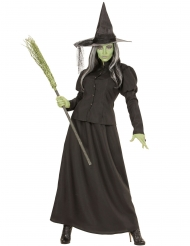Costume da strega verde per donna