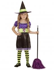 Costume strega nera e gialla bambina