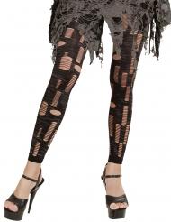 Legging con tagli da zombie per donna