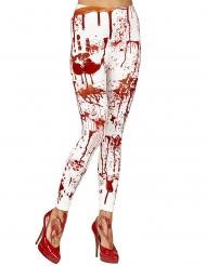 Legging insanguinato per donna