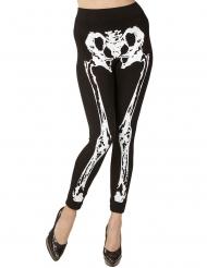 Legging da scheletro per donna