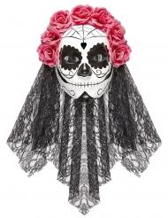 Maschera dia de los muertos adulto