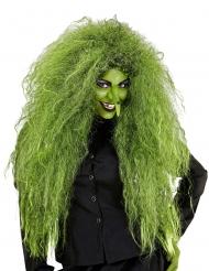 Parrucca verde strega donna