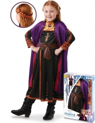 Cofanetto Costume e treccia di Anna Frozen 2™ bambina