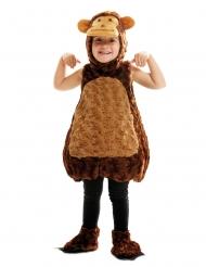 Costume scimmia di peluche bambino
