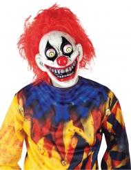 Maschera clown occhi fuori dalle orbite adulto