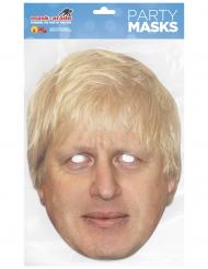 Maschera in cartone Boris Johnson