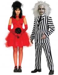 Costume di coppia matrimonio di Beetlejuice