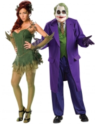Costume di coppia Poison Ivy™ e Joker™ adulto