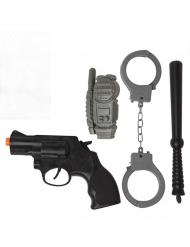 Kit da poliziotto 4 pezzi
