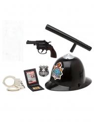 Kit accessori poliziotto 6 pezzi