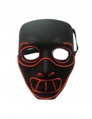 Maschera deluxe led pazzo assassino adulto