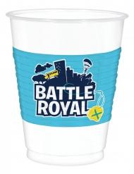 8 Bichieri in plastica battle royal
