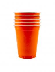 20 Bicchieri americani arancioni 53 cl