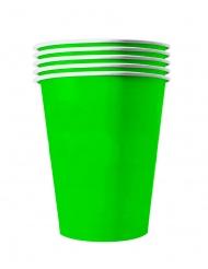 20 Bicchieri americani in cartone verdi 53 cl