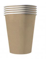 20 Bicchieri americani in cartone riciclabile kraft 53cl