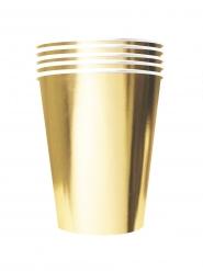 20 Bicchieri americani cartone riciclabile oro 53 cl