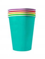 20 Bicchieri americani in cartone riciclabile Summer 53cl