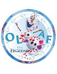 Disco in ostia Olaf Frozen 2™ 14.5 cm