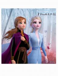 20 tovaglioli in carta Frozen 2™ 33 cm