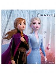 16 Tovagliolini in carta Frozen 2™